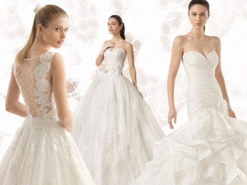 da3ea54e5f46 Gli abiti da sposa della collezione Two di Rosa Clará - Grazia.it