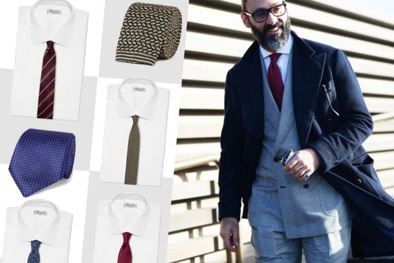 Cravatte: ecco i 5 modelli indispensabili
