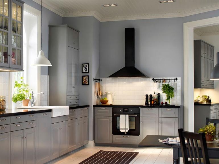 Le cucine a vista perfette per un open space for Arredamento industriale ikea