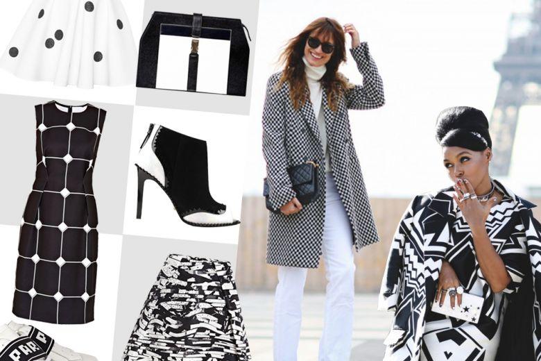 Shopping: bianco e nero!