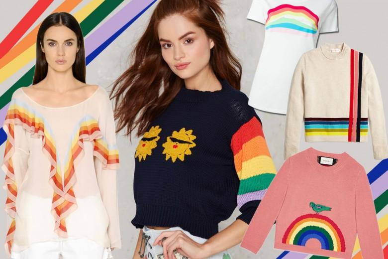 Must have: 10 maglie con l'arcobaleno