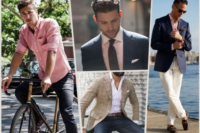 5 modi per indossare la camicia rosa