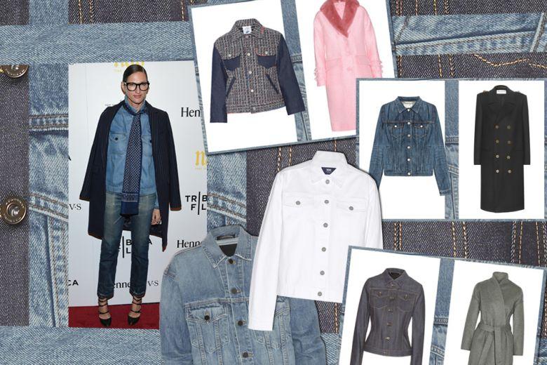 Come abbinare la giacca in jeans al cappotto