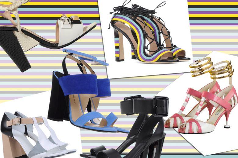 Le scarpe con tacco per la Primavera-Estate 2016