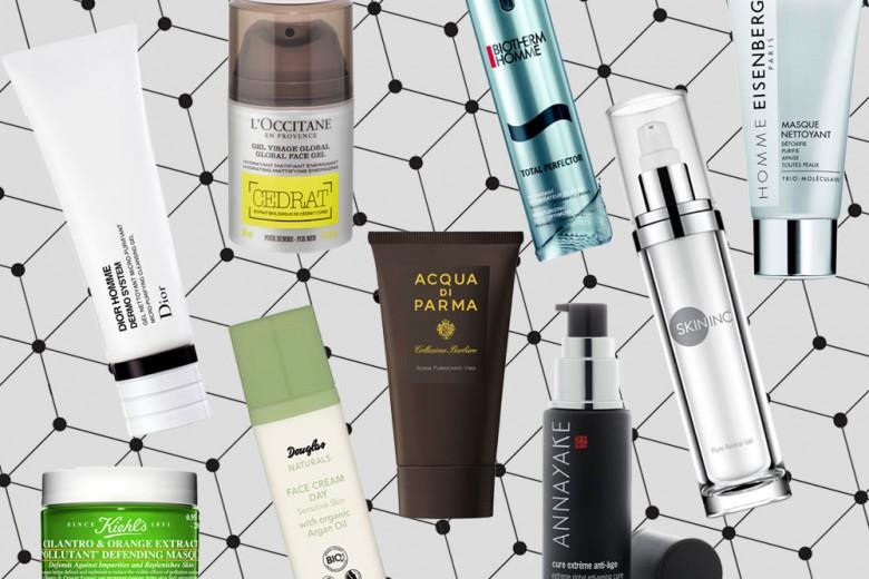 La beauty routine maschile: tutti i prodotti must have dalla detersione all'idratazione