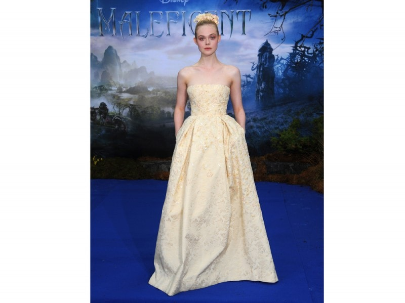 Elle Fanning in Georges Hobeika Couture