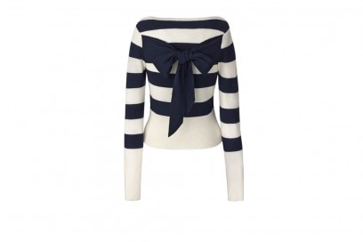 FEB_Olivia-Palermo-+-Chelsea28_Bow-Back-Stripe-Sweater_$98_BACK