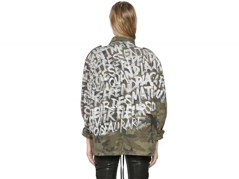 Faith Connexion giacca personalizzata