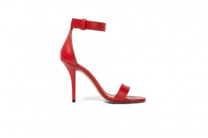 GIVENCHY Retra sandals in red leather_NET