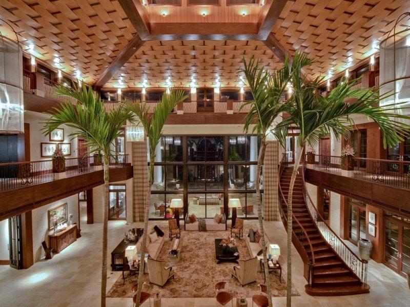 Excellent gli interni della villa alle isole cayman with for Interni ville di lusso