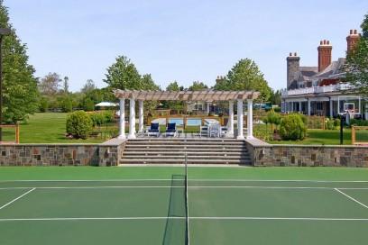 Il campo da tennis