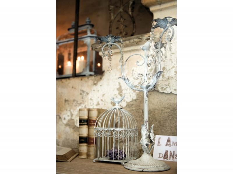 Il candelabro shabby