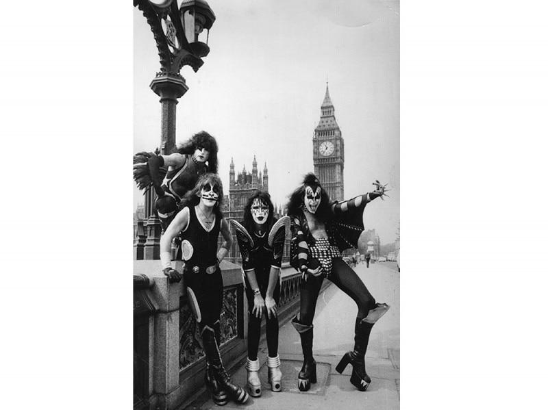 Kiss 1976 Getty