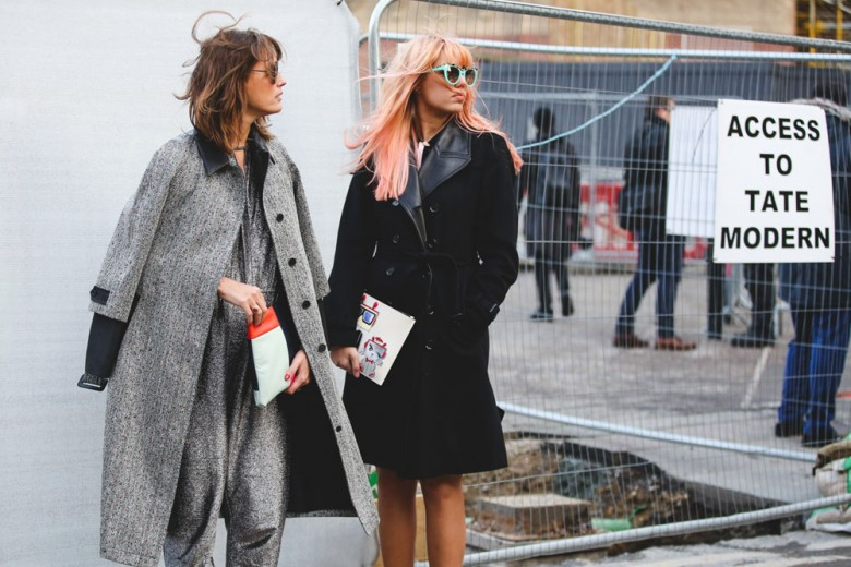 Street style: le foto dalla London Fashion Week