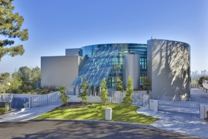 La futuristica Glass House a Beverly Hills