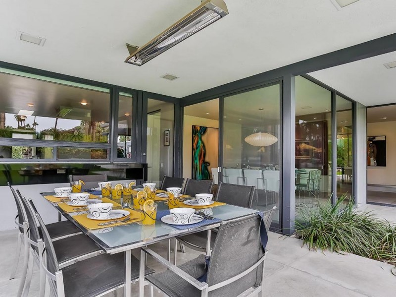 La sala da pranzo outdoor