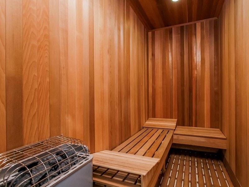 La sauna privata