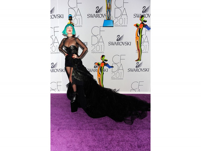 Lady Gaga CFDA 2011 Getty