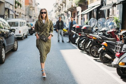 Le-it-girls-alla-Milano-Fashion-Week-2015-trench-militare-e-scarpe-vuitton-tracolla-gucci