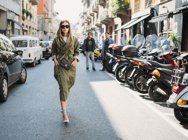 Le-it-girls-alla-Milano-Fashion-Week-2015-trench-militare-e-scarpe-vuitton-tracolla-gucci