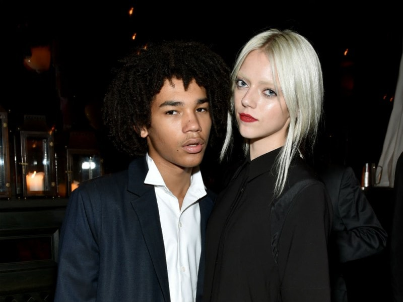 Luka Sabbat and Pyper America Smith