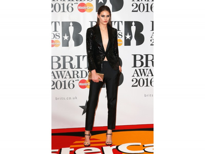 Matilda-Lowther-brit-awards-getty