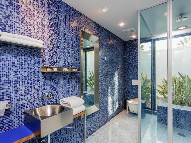 Mosaico blu