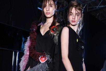 NARS Christopher Kane AW16 Fashion Look