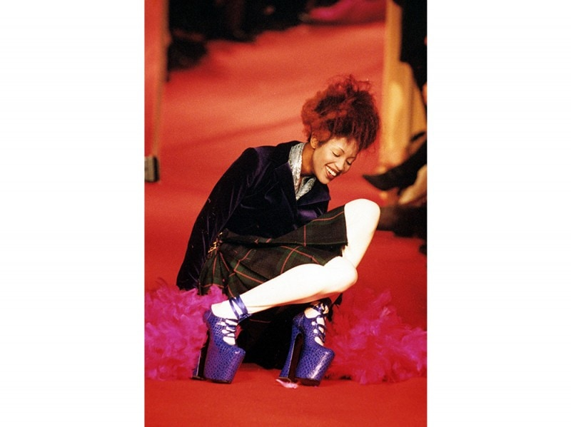 Naomi Campbell Vivienne Westwood 1993