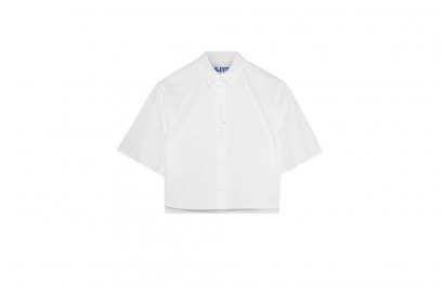 STEVE J and YONI P Cropped cotton shirt_NET