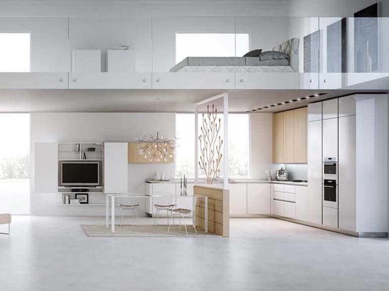Soppalco cucina