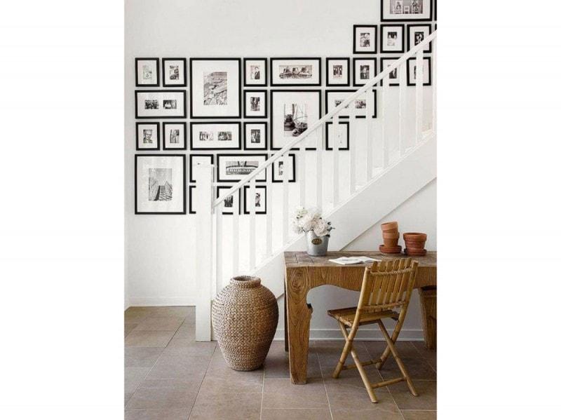 Disporre I Quadri Sulle Scale : Come disporre i quadri alle pareti grazia