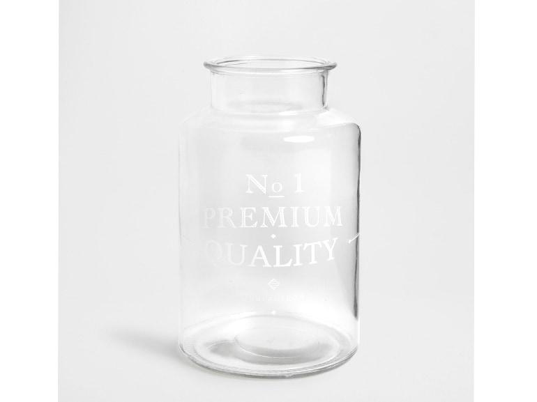 Vaso vetro decalcomania