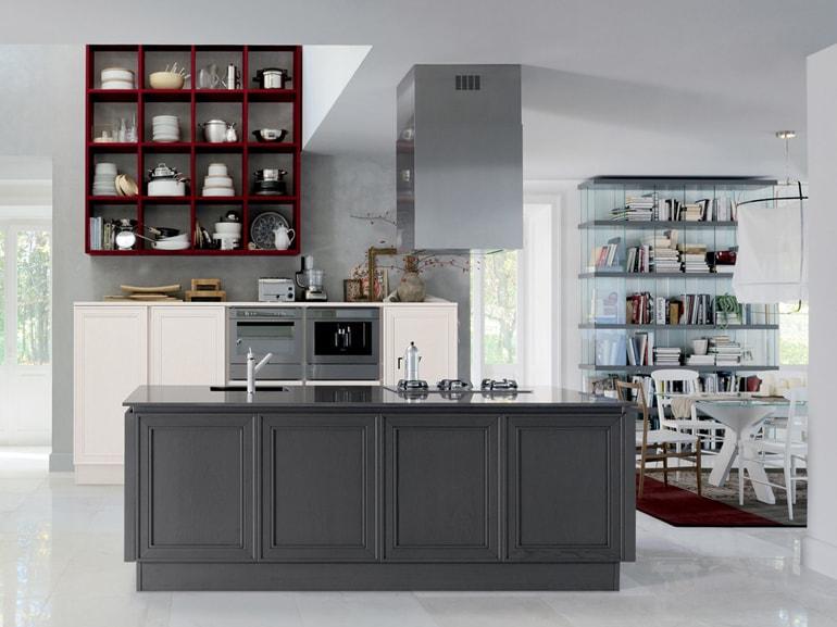 le cucine a vista perfette per un open space - grazia - Soggiorno Living Con Cucina A Vista 2