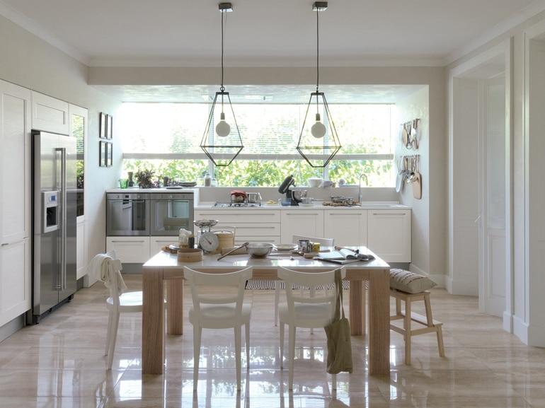 Le cucine a vista perfette per un open space - Cucina aperta sul soggiorno ...