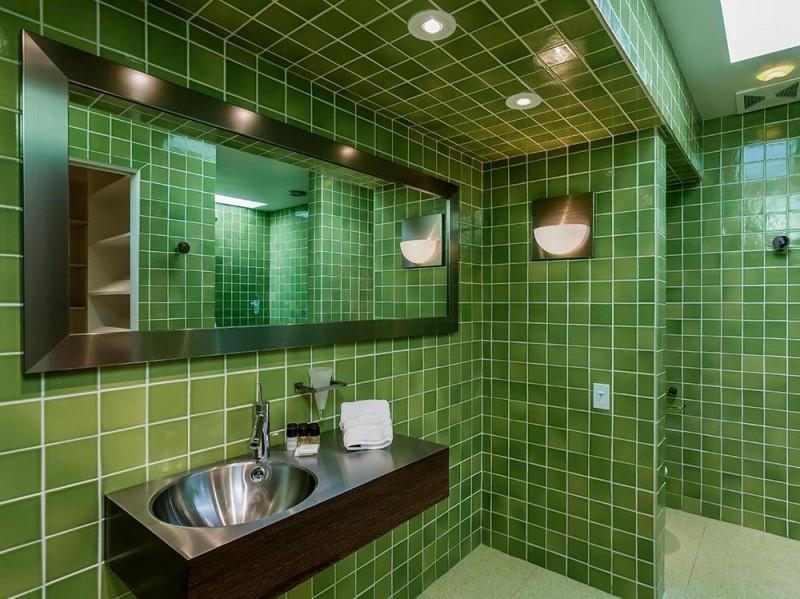 Verde per uno dei bagni