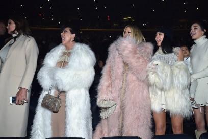 Yeezy season 3 Getty Kardashians clan