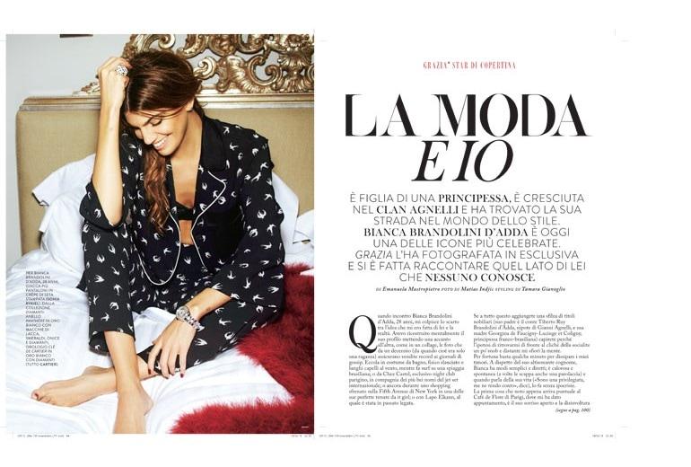 Bianca Brandolini d'Adda: «La moda e io»