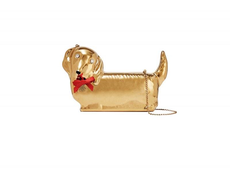 charlotte olympia borsa cagnolino