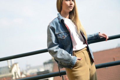 chiara capitani giacca jeans