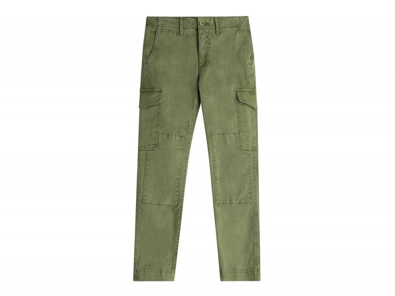 closed pantaloni verdi tasche
