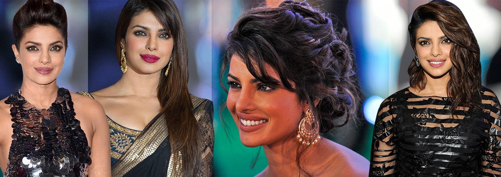 beauty look priyanka chopra