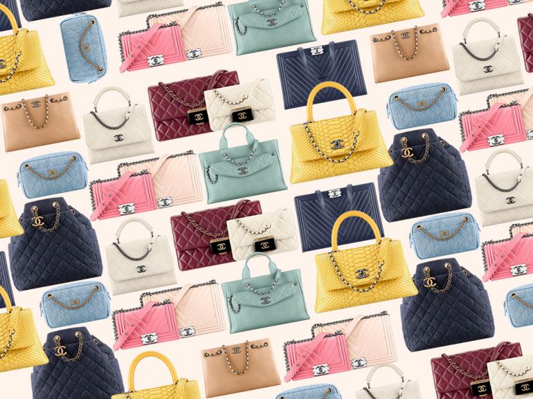 cover borse chanel i modelli top mobile