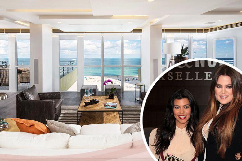 La casa di Khloe e Kourtney Kardashian a Miami