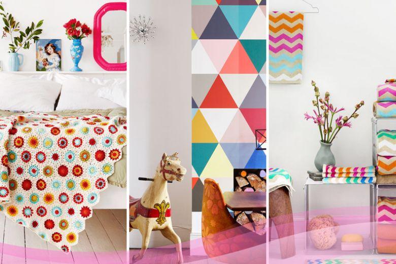 2016: in casa è l'anno dei colori vivaci