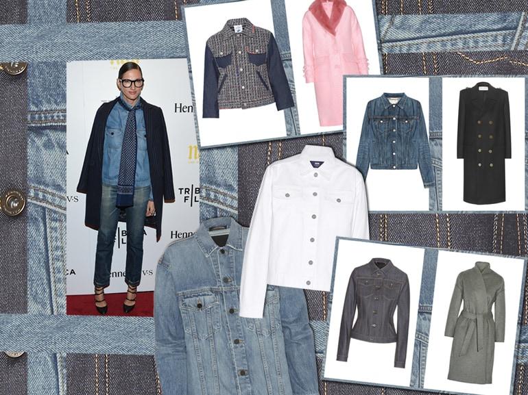 cover come abbinare giacca jeans cappotto