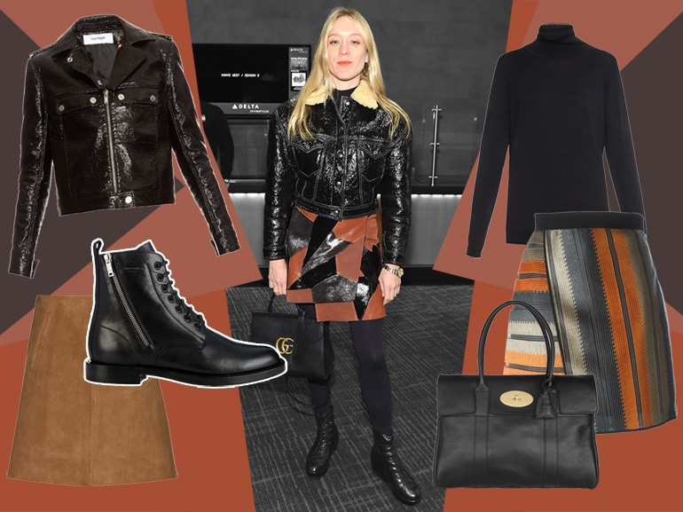 cover get the look chloe sevigny leather mobile