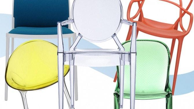 Kartell: le 15 sedie più belle grazia