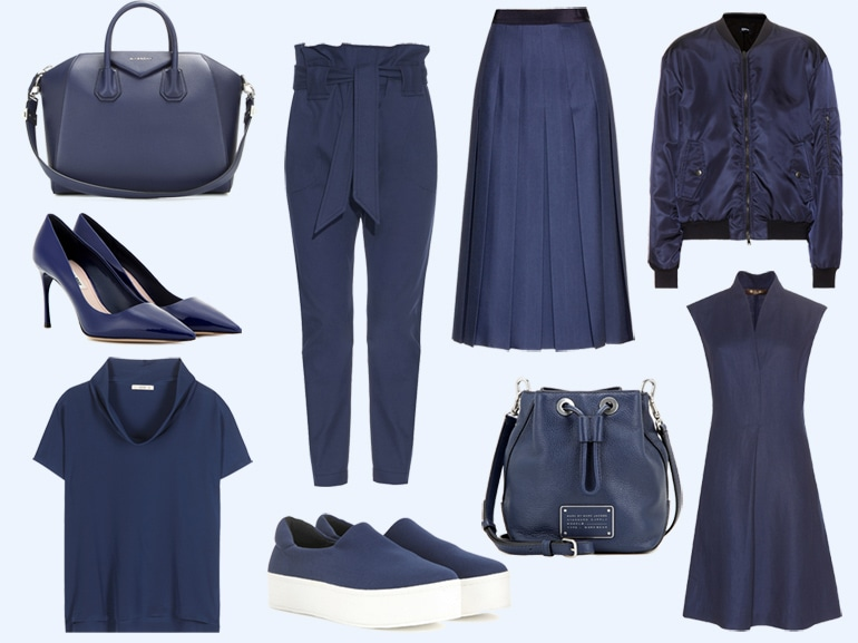 cover  tendenza blu navy per la primavera estate mobile