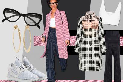 Get the look: il pantalone palazzo come Rihanna